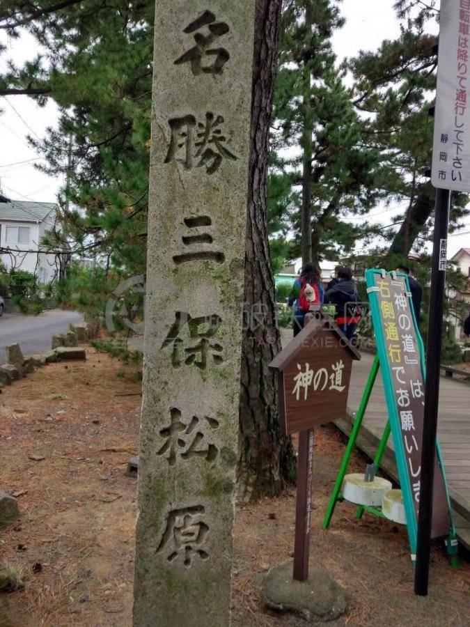 绿油油的松林,波涛的海浪,蓝海与富士山交织等的景致自古就表现在板画